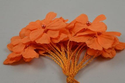 30mm Orange Decorative Cord Butterflies!