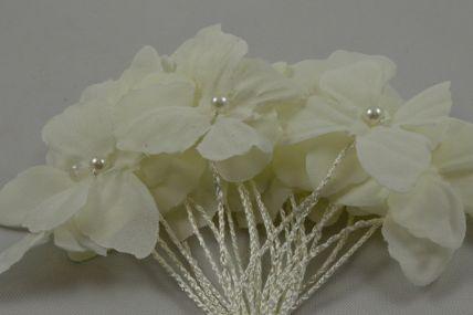 30mm Cream Decorative Cord Butterflies!