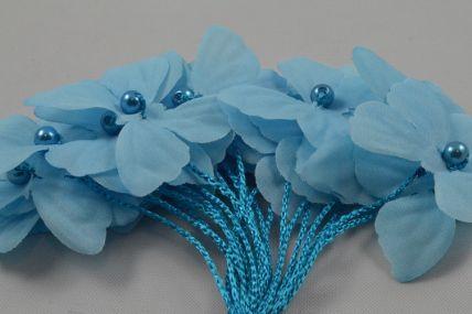 30mm Blue Decorative Cord Butterflies!