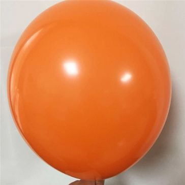 "12"" Orange Latex Balloons (Pack of 6)"