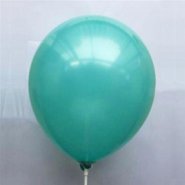 """12"""" Aqua Blue Latex Balloons (Pack of 6)"""