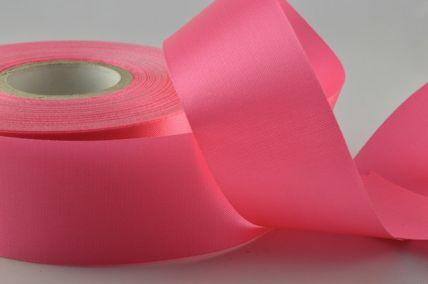 24mm Hot Pink Acetate Satin Ribbon x 50 Metre Rolls!