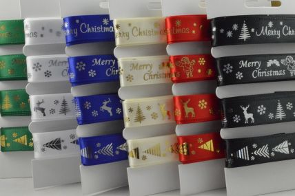 Merry Christmas Selection Packs : 4 x 2 Metre Lengths