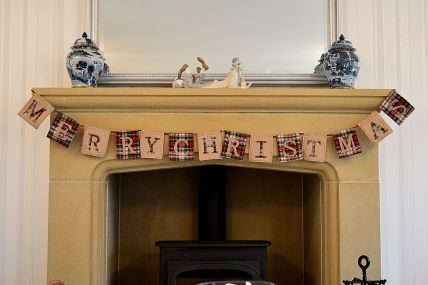 Merry Christmas Bunting