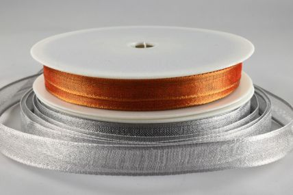 10mm Wired Strong Webbed Sheer Ribbon x 3 Metre Rolls!!