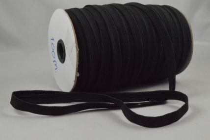 10mm Black Elastic ribbon x 100 Metre Rolls!