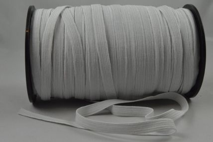 10mm White Elastic ribbon x 100 Metre Rolls!