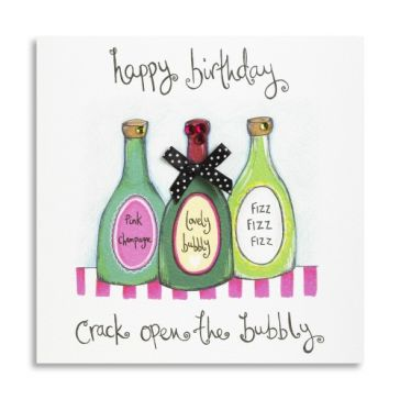 Happy Birthday Bubbly Card