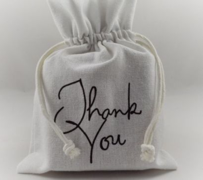 White Thank You Gift Bags!