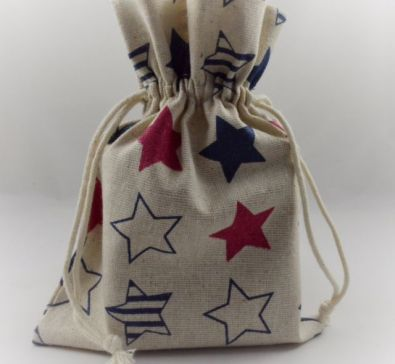 Coloured Star Printed Gift Bag!