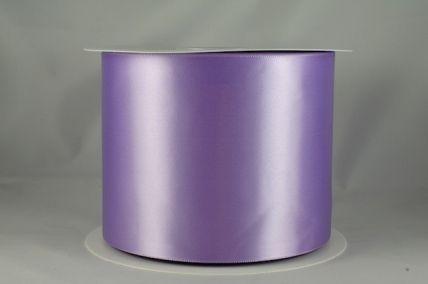 100mm Lilac Single Sided Satin Sash ribbon x 50 metre rolls!!