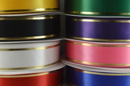 25mm & 38mm Rosette Tramline Ribbon x 100 metre Rolls!!