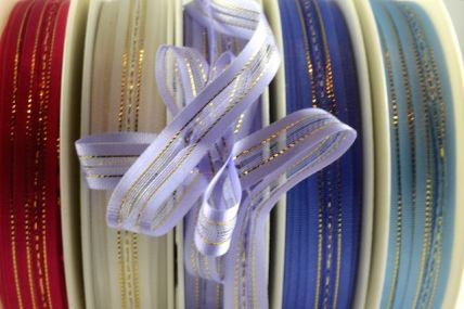 10mm Colourful Fasbo Sheer Pull Bow Ribbon x 25 Metre Rolls!