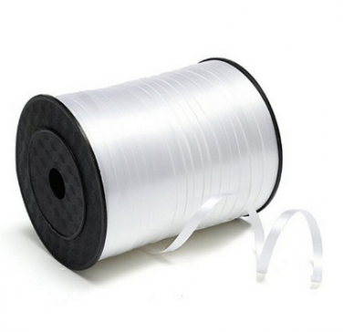 5mm White Polypropylene Curling Ribbon x 500 Metre Rolls!!