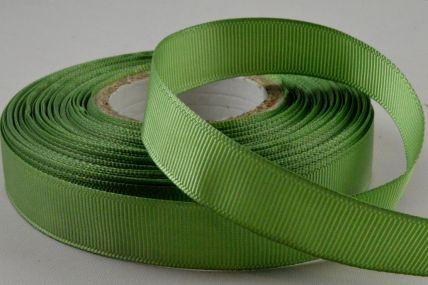 16mm Green Grosgrain Ribbon x 20 Metre Rolls!