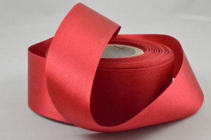 40mm Plain Red Ribbon x 20 Metre Rolls!
