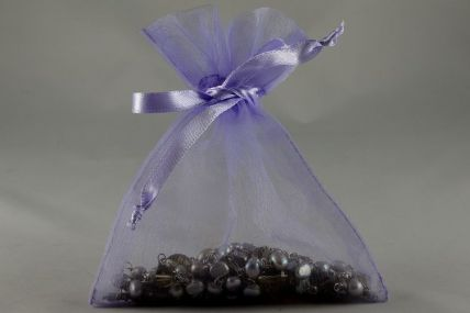 Set of 12 Lilac Organza Bags - Available in 3 Sizes!