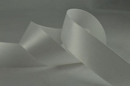 15mm & 25mm Eggshell Single Faced Satin Ribbon x 20 Metre Rolls!