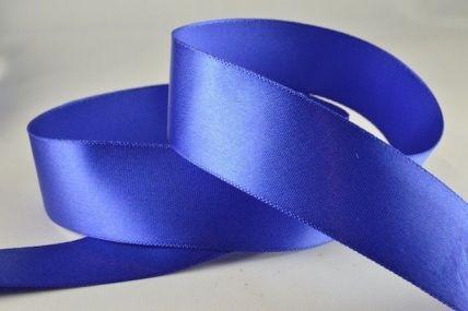 15mm & 25mm Royal Blue Single Faced Satin Ribbon x 20 Metre Rolls!